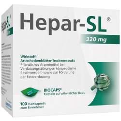 Hepar-SL® 320mg Hartkapseln 100 Hartkaps.