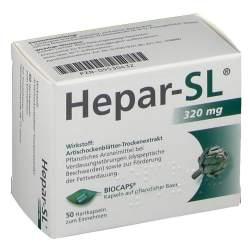 Hepar-SL® 320mg Hartkapseln 50 Hartkaps.