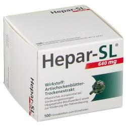 Hepar-SL® 640 mg 100 Filmtbl.