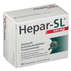 Hepar-SL® 640 mg 50 Filmtbl.