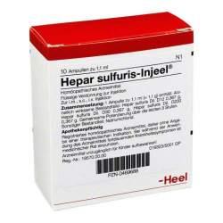 Hepar sulfuris-Injeel 10 Amp. Inj.-Lsg.