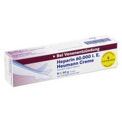 Heparin 60.000 I.E. Heumann 40g Creme
