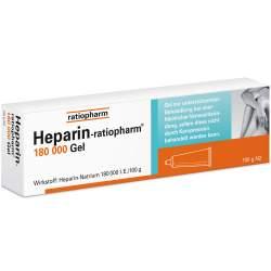 Heparin-ratio 180 000 Gel 100g