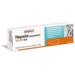 Heparin-ratio 180 000 Gel 150g