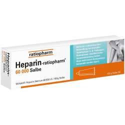 Heparin-ratiopharm® 60000 Salbe 100g