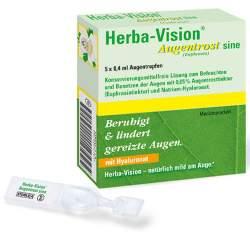 Herba-Vision® Augentrost sine 5x0,4ml AT