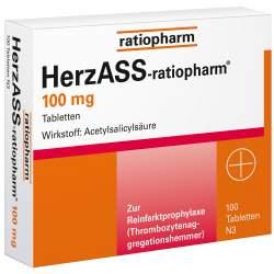 Herzass ratiopharm 100mg