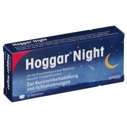 Hoggar® Night 25mg Doxylaminsuccinat 20 Tbl.