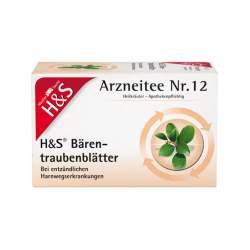 H&S Bärentraubenblättertee 20 Btl.