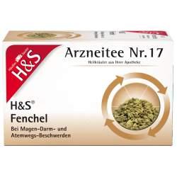 H&S FENCHELTEE UNGEMISCHT 20x2.2 g
