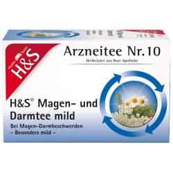 H&S Magen- und Darmtee mild 20 Filterbeutel