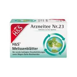 H&S Melissentee 20 Filterbeutel