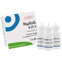 Hyabak® 3x10ml Augentropf.