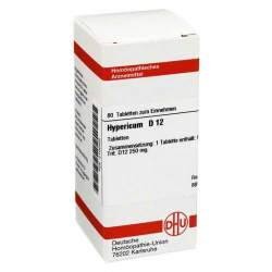 Hypericum D12 DHU 80 Tbl.