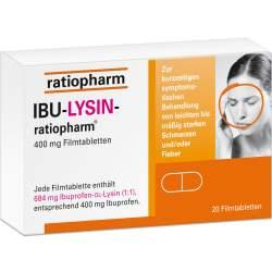 IBU-LYSIN-ratiopharm® 400 mg 20 Filmtabletten