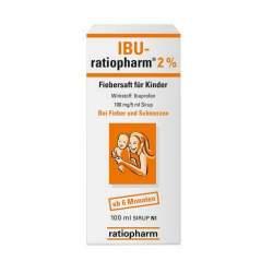 IBU-ratiopharm® 2% Fiebersaft für Kinder 100ml