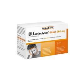 IBU-ratiopharm® direkt 200 mg Pulver zum Einnehmen 20 Btl.