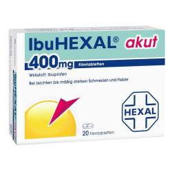 ibuHEXAL® akut 400mg 20 Filmtbl.