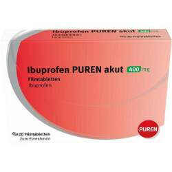 Ibuprofen PUREN akut 400 mg 20 Filmtbl.