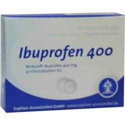 Ibuprofen Sophien 400 30 Filmtbl.