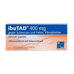 ibuTAD® 400mg gg. Schmerzen+Fieber 20 Filmtbl.