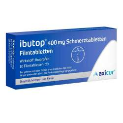 Ibutop® 400 mg 10 Schmerztabletten