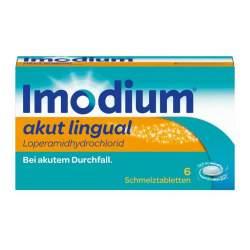 Imodium® akut lingual 6 Schmelztbl.