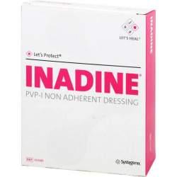 Inadine Salbengaze m. PVP Iod. 9,5x9,5cm 25 St.