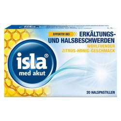isla® med akut Zitrus-Honig 20 Pastillen