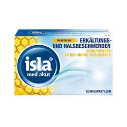 isla® med akut Zitrus-Honig 50 Pastillen