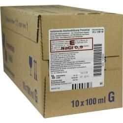 Isoton Kochs-Lsg Fres 0,9% Glas-Fl. 10x100ml