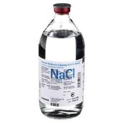 Isotone Kochsalz-Lösung 0,9 % Braun Infusionslösung, 1 Glasflasche 1000 ml