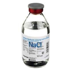 Isotone Kochsalz-Lösung 0,9% Braun Infusionslösung 1 Glasflasche 250 ml