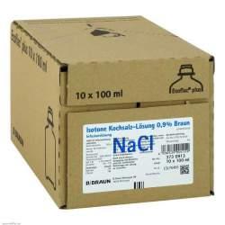 Isotone Kochsalzlösung 0,9% Braun Ecoflac® Plus 10x100ml