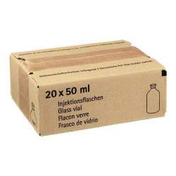 Isotone NaCl-Lsg. 0,9% BC Glasflaschen 20x50ml