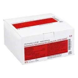 Isotonische NaCl 0.9% Eifelfango 100x2ml Amp.