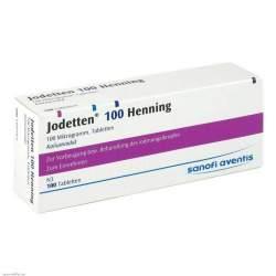 Jodetten® 100 Henning 100 Tbl.
