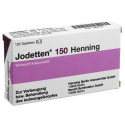 Jodetten® 150 Henning 100 Tbl.