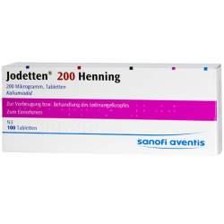 Jodetten® 200 Henning 100 Tbl.