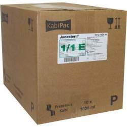 Jonosteril Infusionslösung 10x1000 ml Plastikflasche