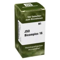 Jso Bicomplex Heilmittel Nr 16 150 Tbl.