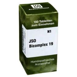 Jso Bicomplex Heilmittel Nr 19 150 Tbl.