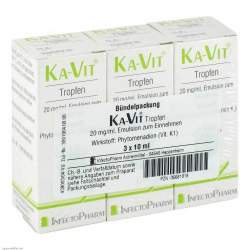 KA-VIT® Tropfen, 20mg/ml Emulsion zum Einnehmen 3x 10ml