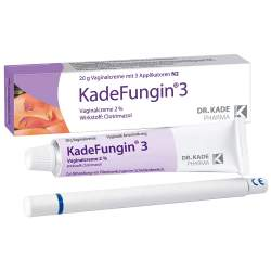 KadeFungin® 3 20 g Vag.-Creme 2% + 3 Applikatoren