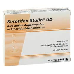 Ketotifen Stulln® UD 20x0,4ml Augentropfen, Einzeldosisophtiole