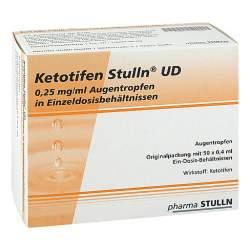 Ketotifen Stulln® UD 50x0,4ml Augentropfen, Einzeldosisophtiole