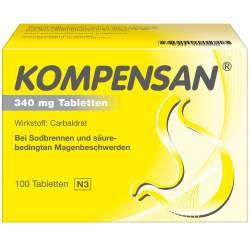Kompensan®, 340 mg 100 Tabletten