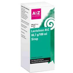 Lactulose AbZ 66,7g/100ml 200ml Sirup
