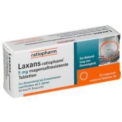 Laxans-ratiopharm® 5mg 30 msr. Tbl.