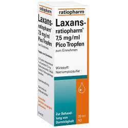 Laxans-ratiopharm® 7,5mg/ml Pico Tropf. 30ml